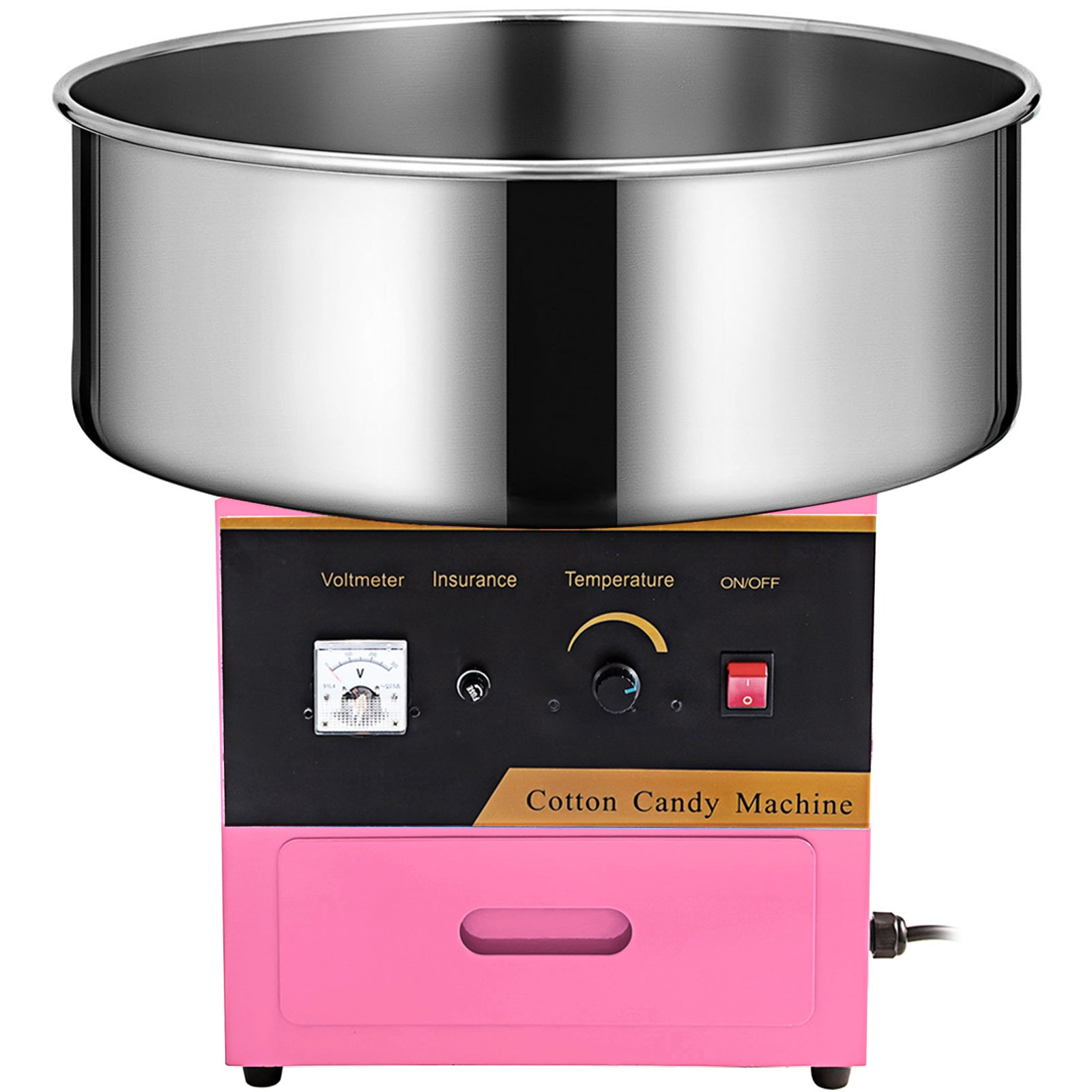 Electric Candy Cotton Machine Professional Pink Floss ...