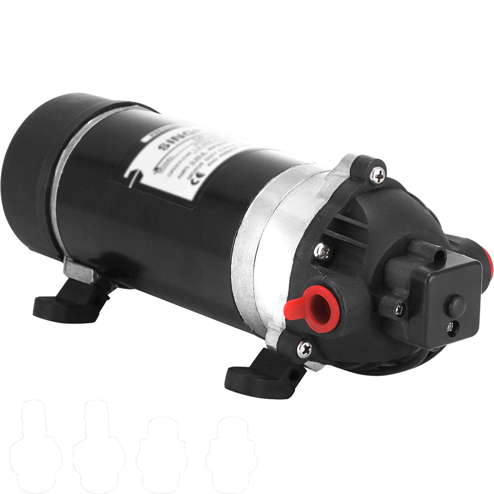 12v 60psi Misting Diaphragm Water Pump Booster Sprayer Yacht Self Priming 7a