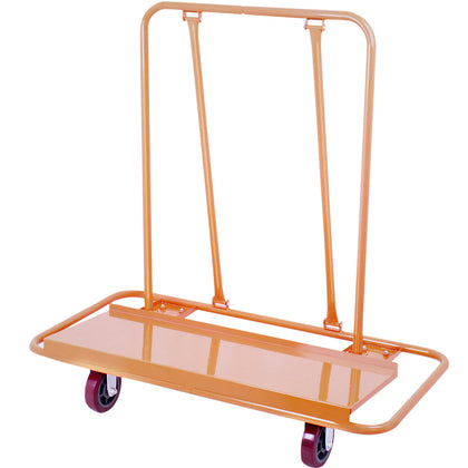 Drywall Cart Plasterboard Wheeled Trolley 1360kg Durable Panel Casters Good