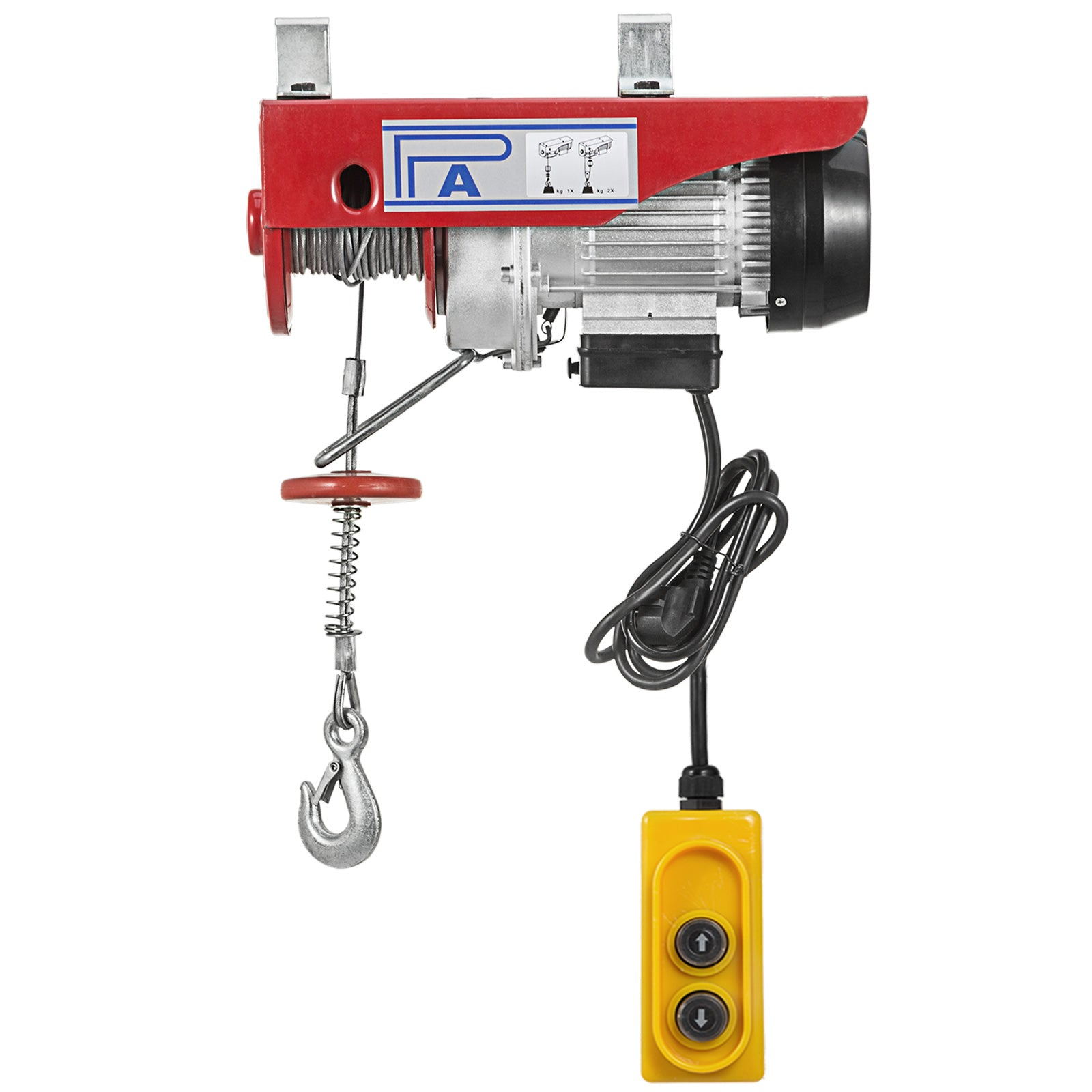 Scaffold Winch Electric Hoist Lifting 300kg Durable Engine Heavy Duty