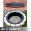 Fire Pit Ring/liner Campfire Pit 91cm Outside Liner Ring Above In-ground Patio