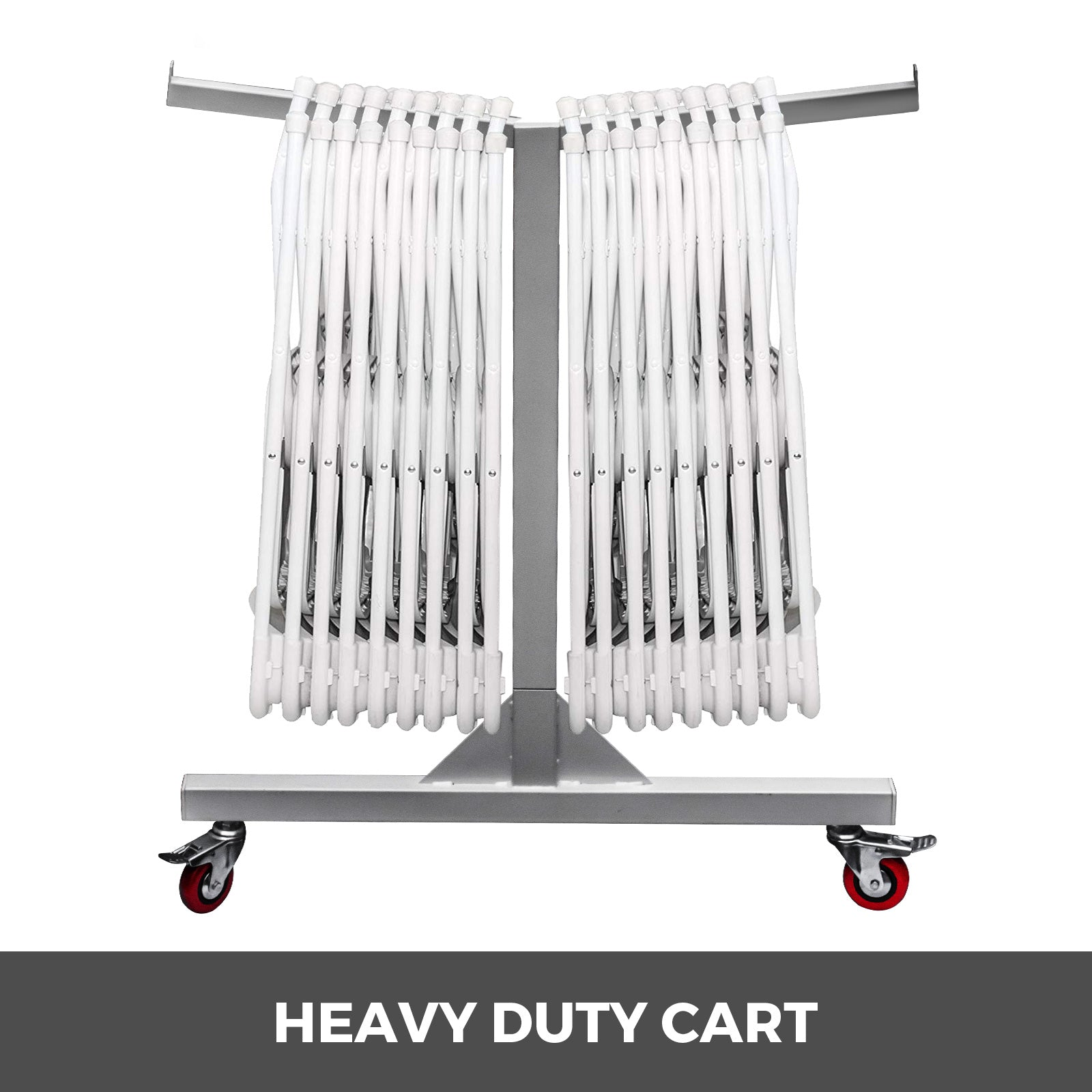 Folding Chair Cart Chair Rack 42 Chairs Capacity Hanging Folding Chairs