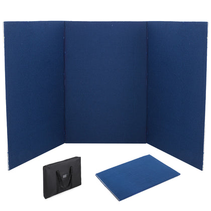 72 X 36 3 Panel Tabletop Display Presentation Board Fabric Folding Exhibition