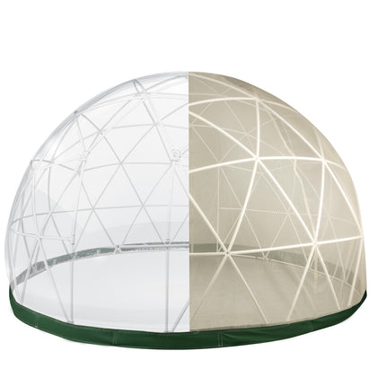Garden Domegarden Dome Igloo12ft Greenhouse Domepvcigloogeodesic Dome Kit