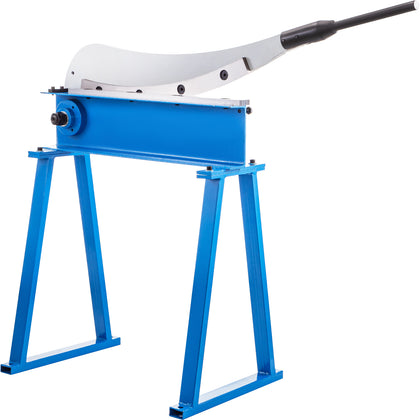 Vevor Metal Sheet Lever Hand Guillotine Shear Cutter 800mm W/ Curved Blade