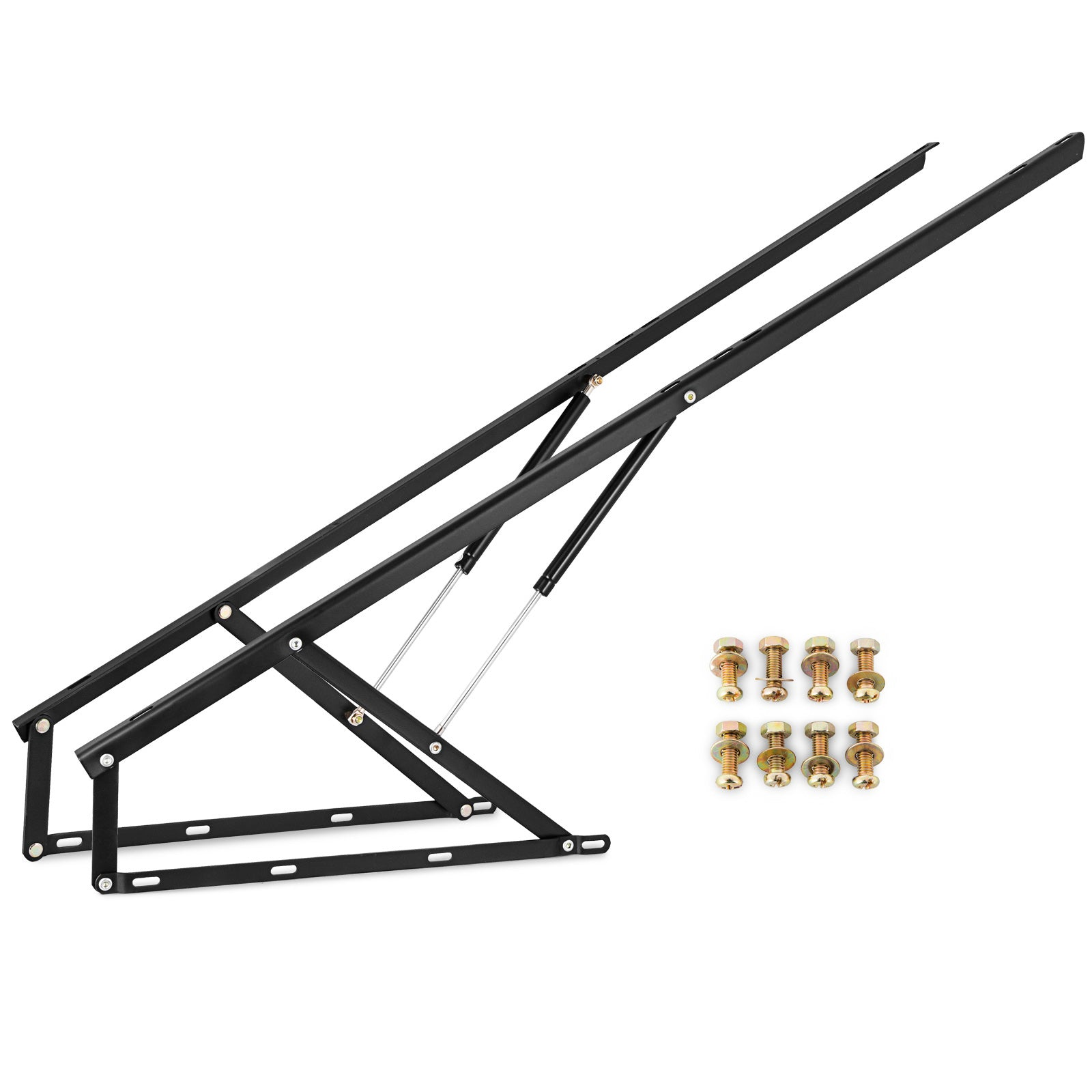 "60"" Bed Lift Hydraulic Mechanisms Kits For Sofa Bed Storage Oriented Sturdy"