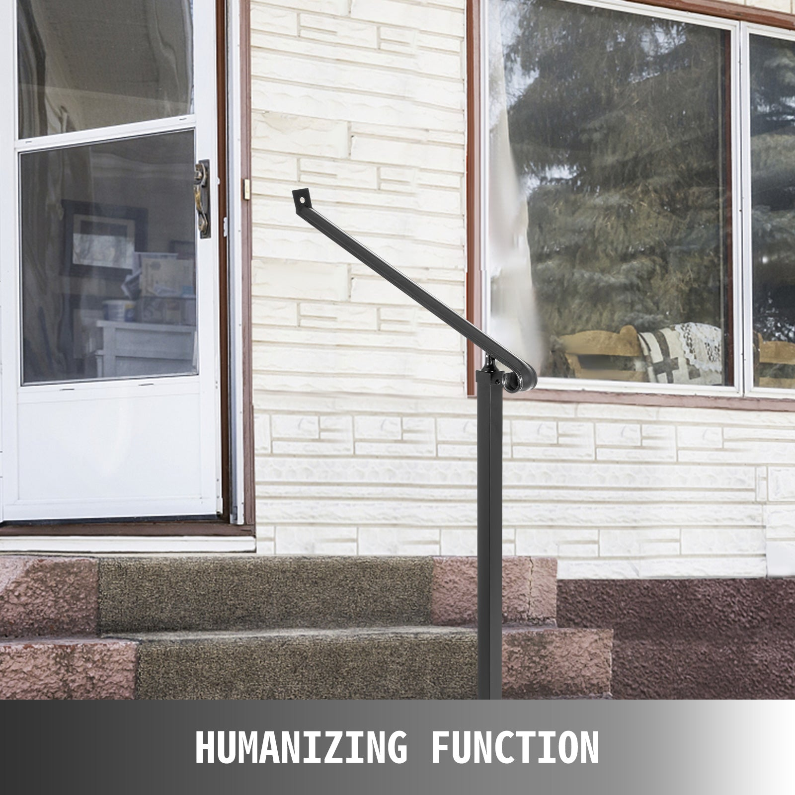 Iron Handrailrailings For Steps2 Steps Iron Handrails For Outdoor Steps
