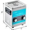 2l Knob Ultrasonic Cleaner 2l Ultrasonic Cleaning Machine W/ Cleaning Basket