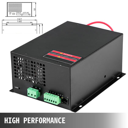 60w Co2 Laser Power Supply Switch For Laser Engraver Engraving Cutting Machine