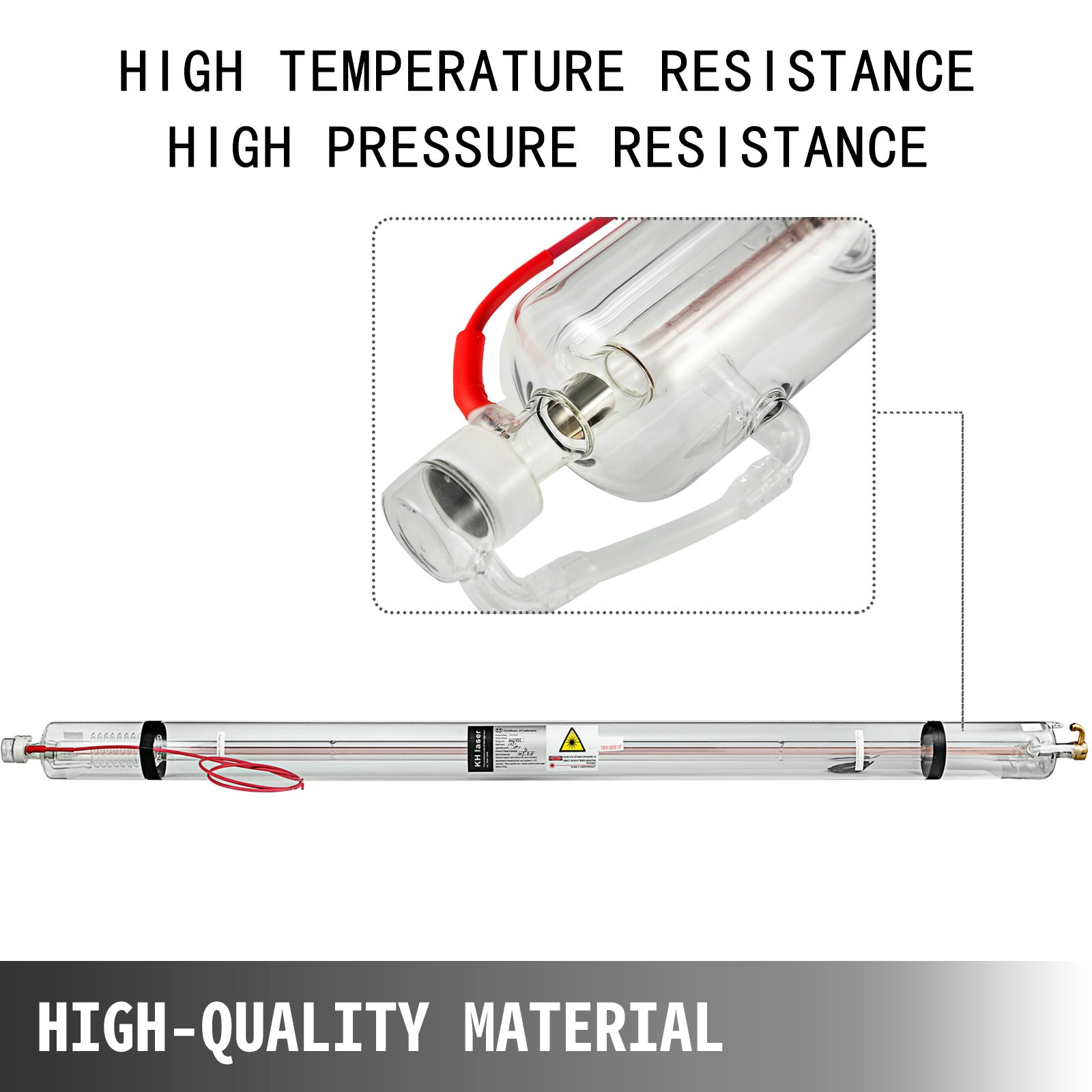 150w 1830mm Laser Tube For Co2 Laser Engraving Cutting Marking Machine