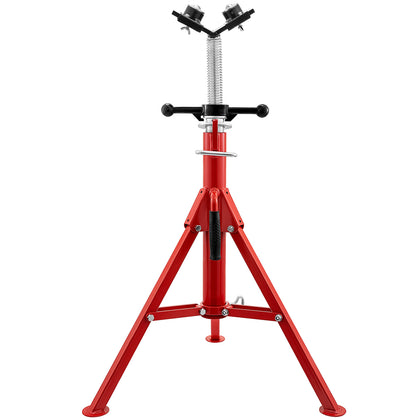 Pipe Jack Stand 1107s V-head 131cm 2-ball Transfer Folding Portable 1300lb