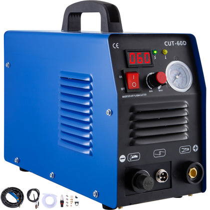 Icut-60, 60 Amp Air Plasma Cutter Inverter Cutting Machine Igbt Cut 1-14mm