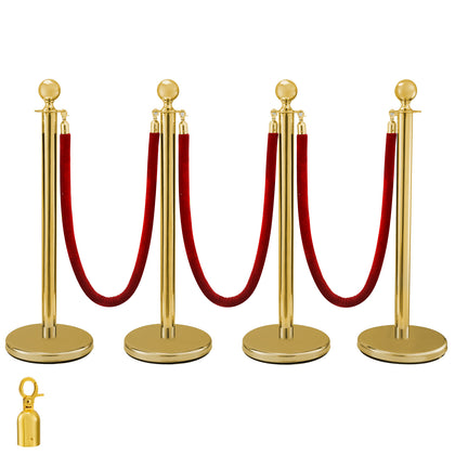 Crowd Control Stanchion Gold 4x37.8