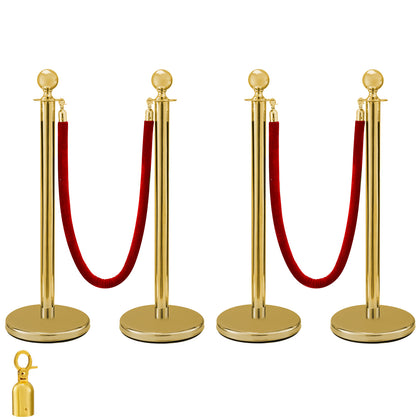 Crowd Control Stanchion Gold 4 X 37.8