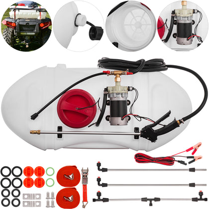 15.8 Gallon Atv Broadcast And Spot Sprayer 1.3 Gpm Rapid Spray Farm Spot Sprayer