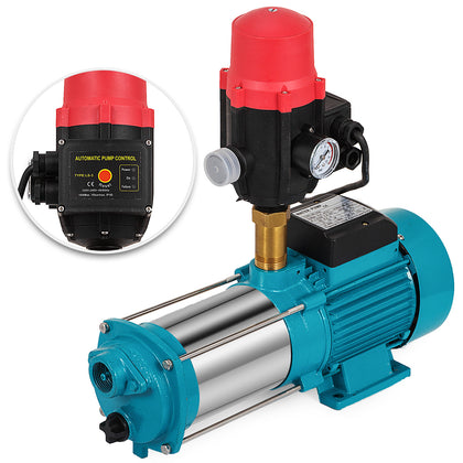1300w Centrifugal Booster Water Pump W/control Boosting Pump Domestic Jet Pump