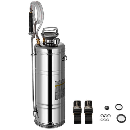 3.5 Gal. Industrial Contractor Stainless Steel Concrete Sprayer Garden