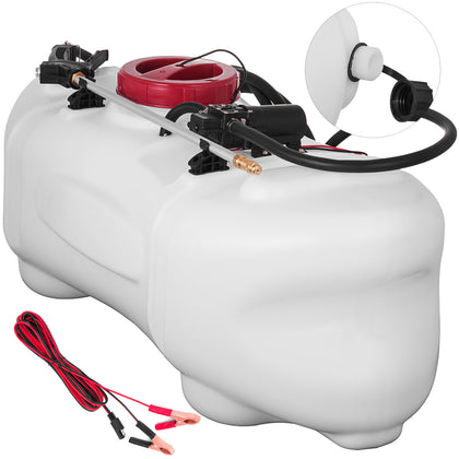 15.8 Gallon Atv Broadcast And Spot Sprayer 0.6gpm 15.8 Gallon Battery Grass