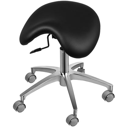 Multifunctional Ergonomic Back Posture Saddle Stool Dentists Salon Tilting Seat