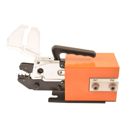 Am-10 Pneumatic Crimping Tool 5 Dies Crimper Tool Set Dual-action Cylinder