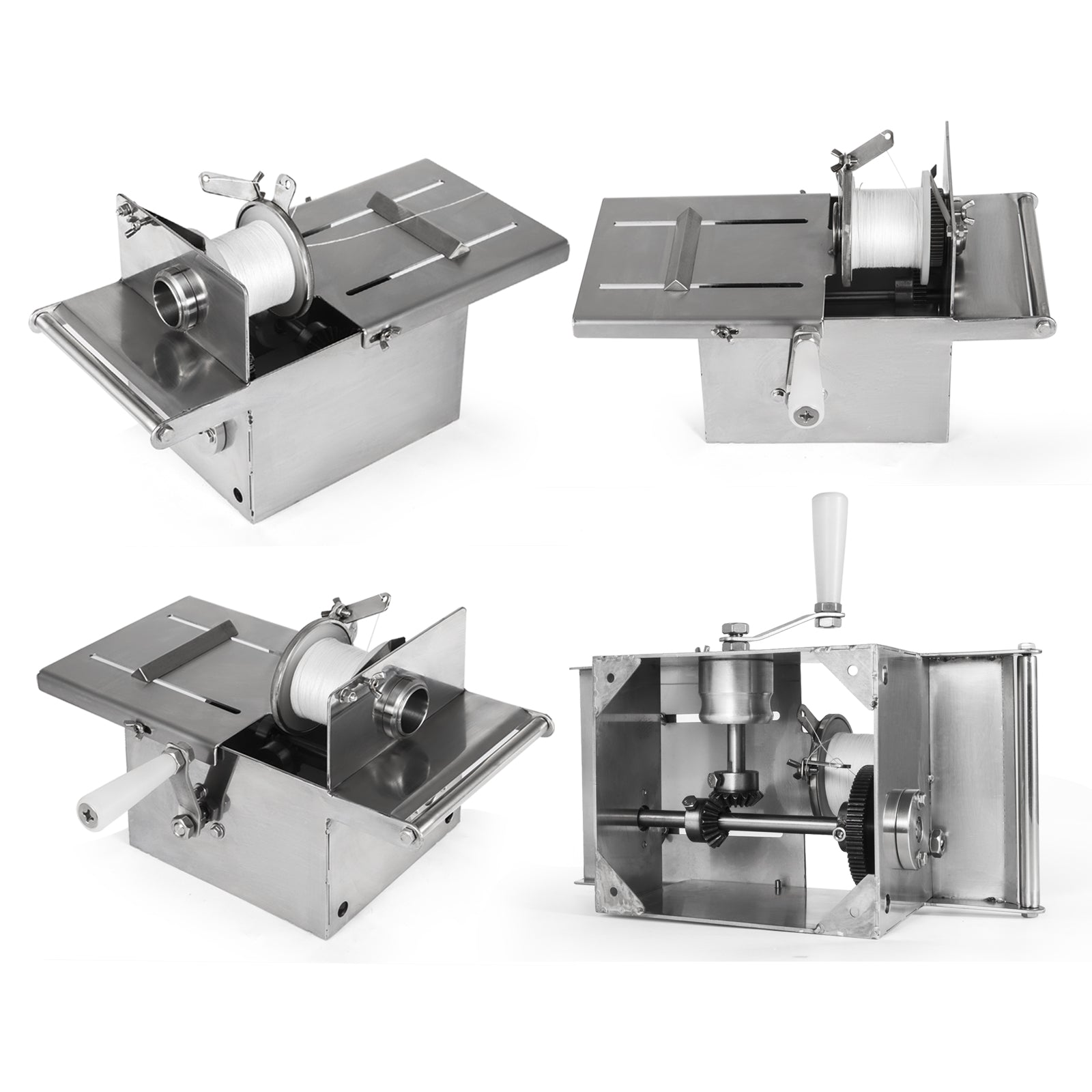 42mm Sausage Tying Knotting Machine W/3pcs Twine Hand-rolling Business Food Shop