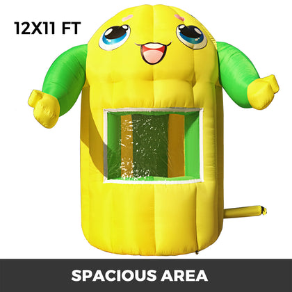 Inflatable Concession Tent Stand 3.6x3.5m Lemonade Candy Food Drink Event Booth