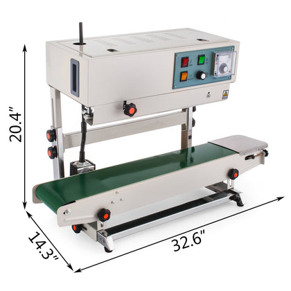 Fr-900 Vertical Type Automatic Sealing Machine Compound Film Liquid Sealing