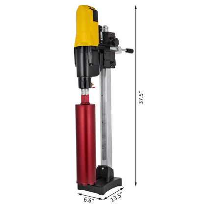 255mm Diamond Core Drill Wet & Vacuum Core Drilling Rig Stand & Drilling Bits