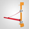 Electric Hoist Holder Swing Arm 75-115cm Swinging Scaffolding Pole Crane Block