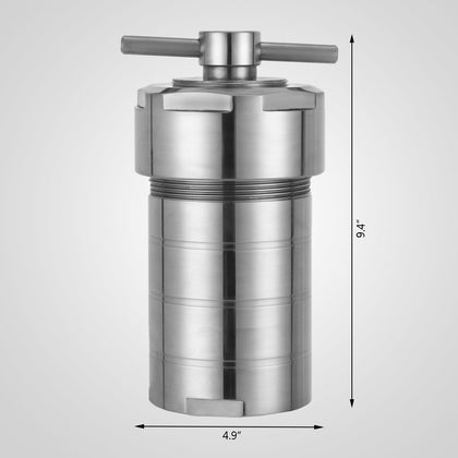 500ml Hydrothermal Synthesis Autoclave Reactor With Teflon Chamber Synthesis