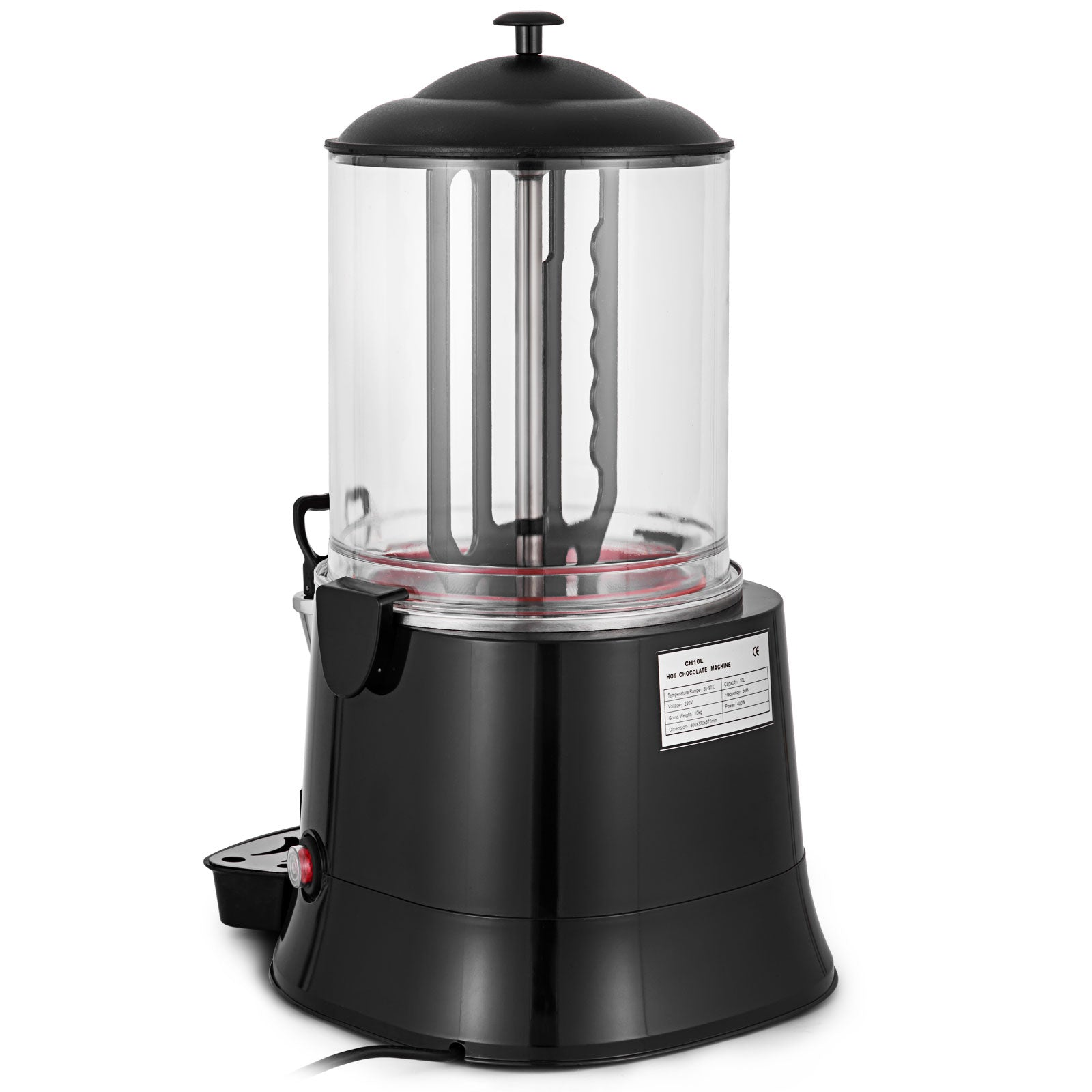 10 L Hot Chocolate Machine Electric Commercial Chocolate Milk Mixer Automatic