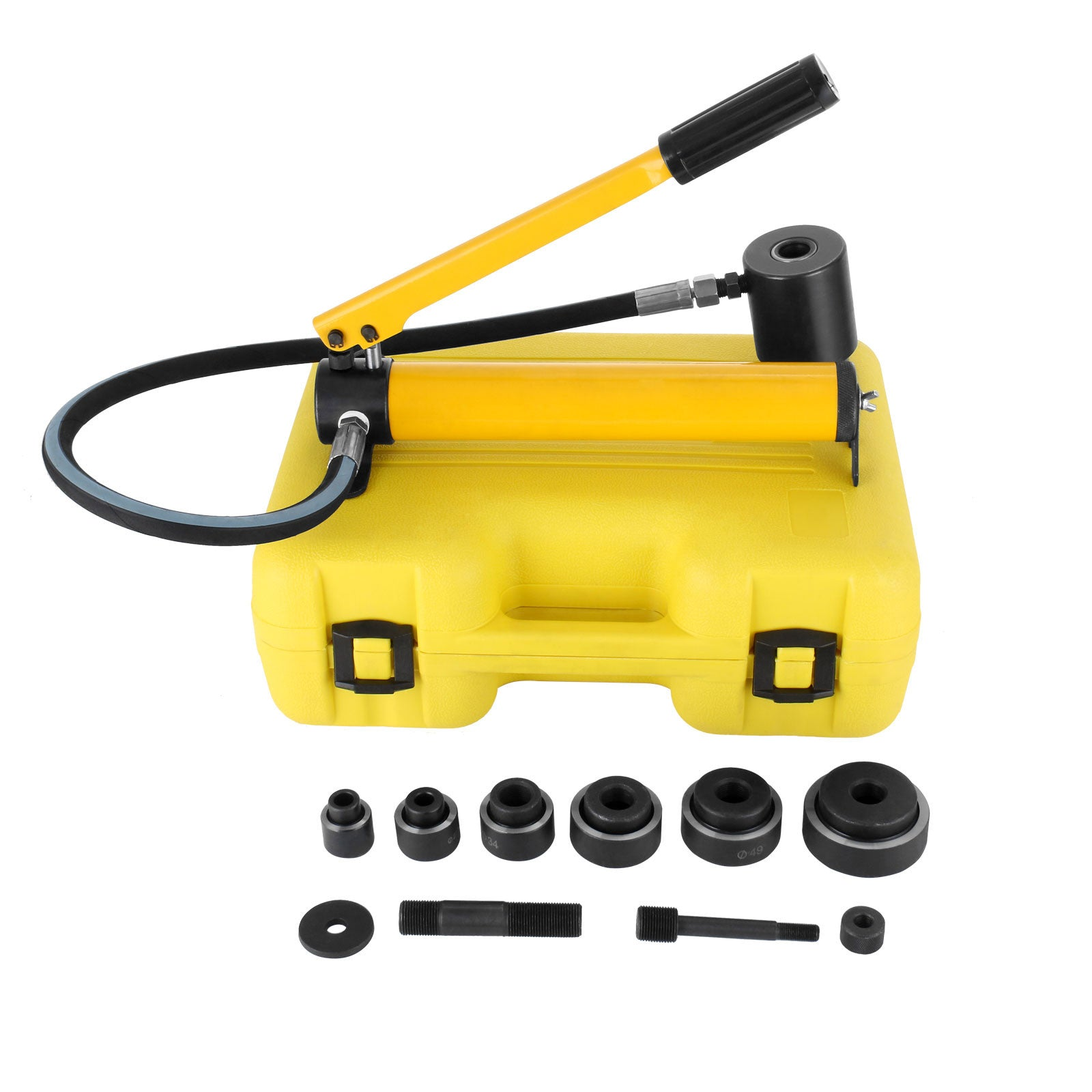 10 Ton Hydraulic Knockout Punch Holesaw Set Cutter Drill Hole