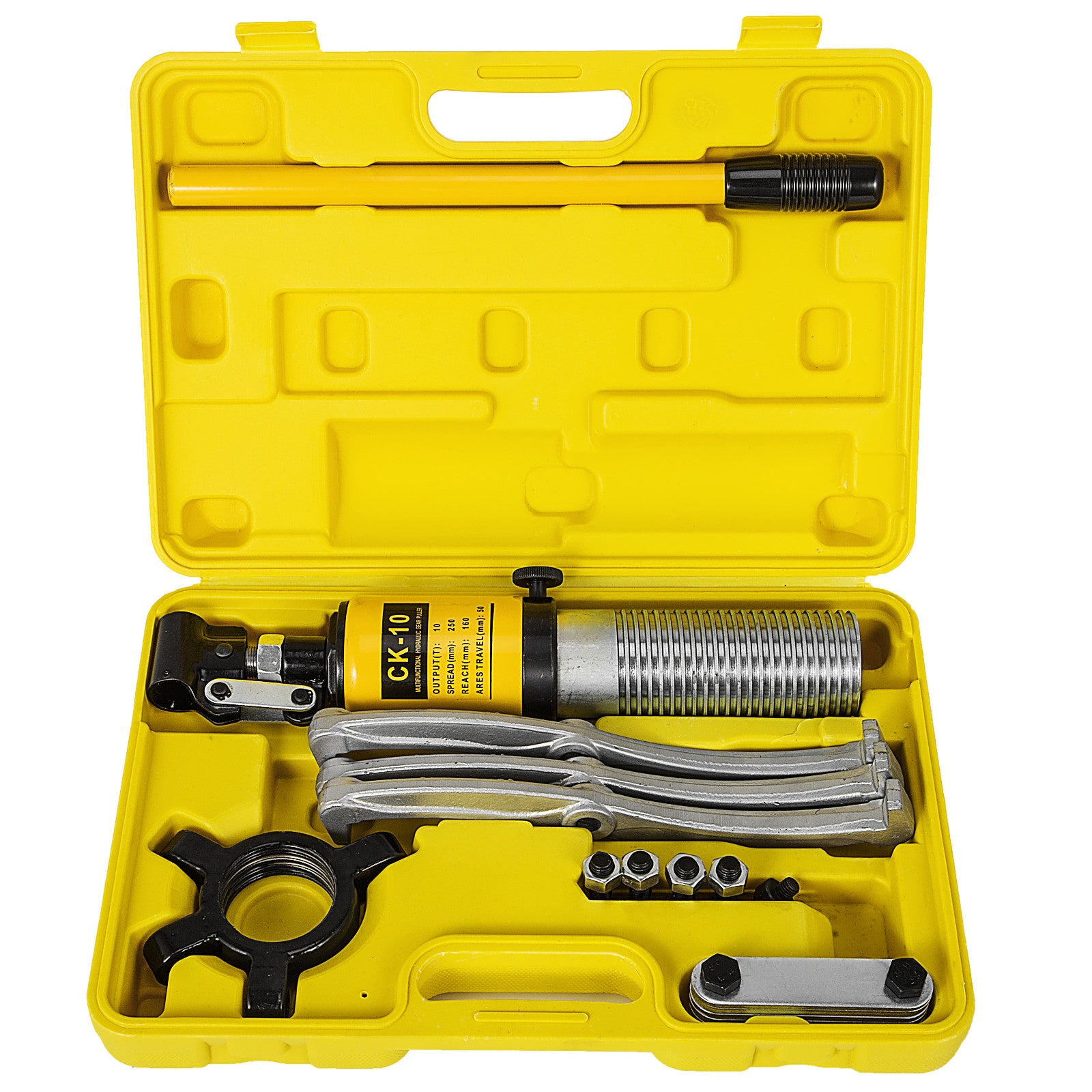 Gear Bearing Puller Set Kit Hydraulic Multi Function 10 Ton Remove & Install