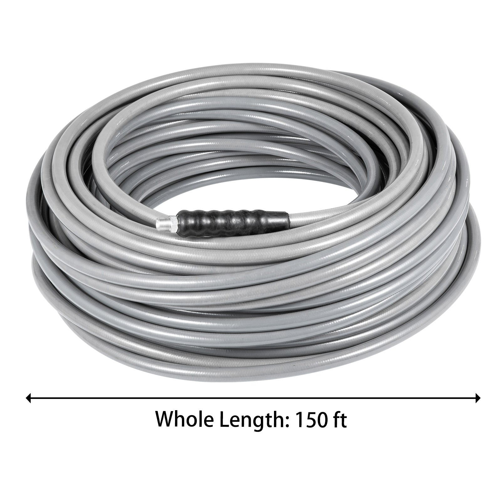 "3/8"" 150ft Carpet Cleaning Hose Pressure Washer Cold Water 4500psi"