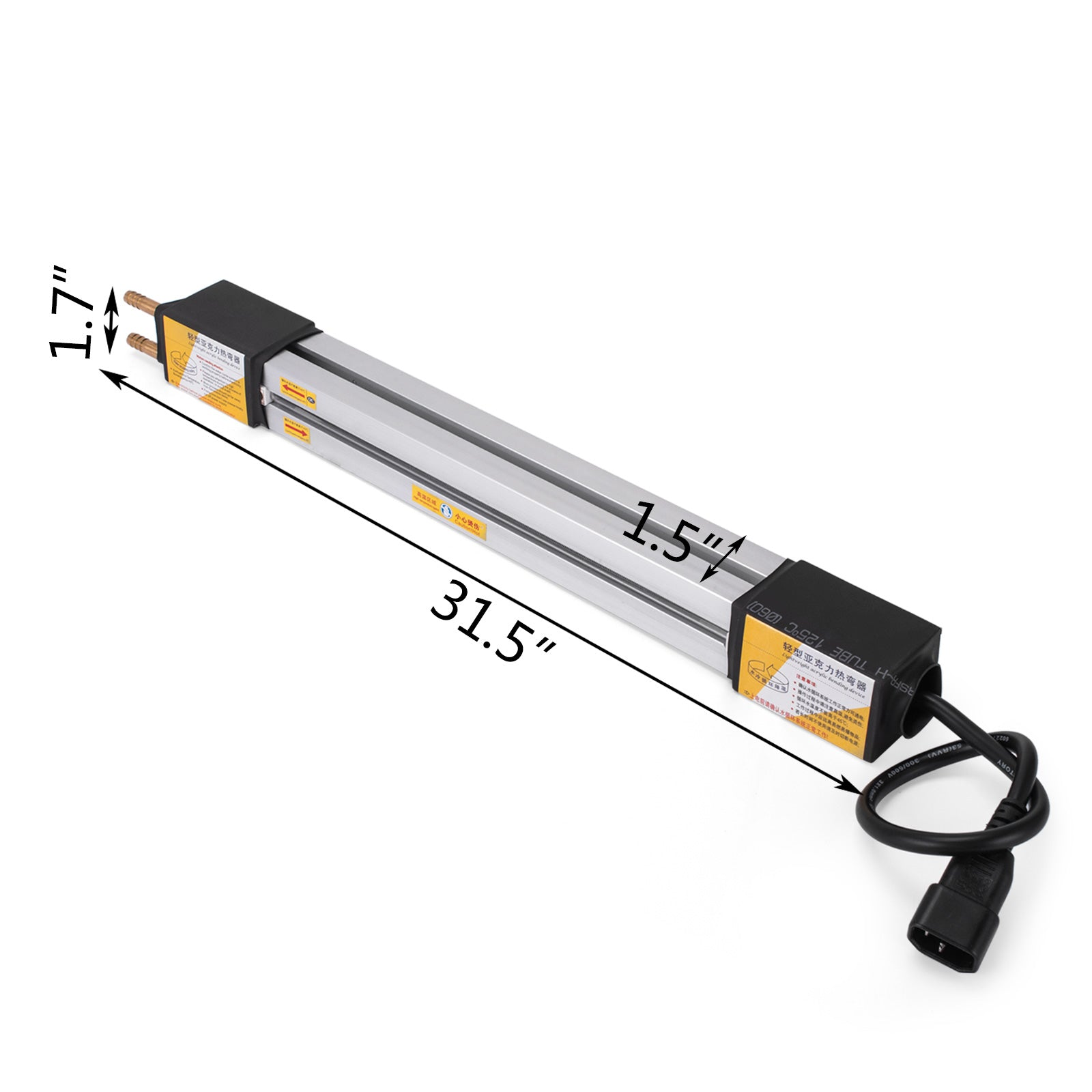 "24""(600mm) Plastic Acrylic Bending Machine Heater Hand Held Manual Light Weight"
