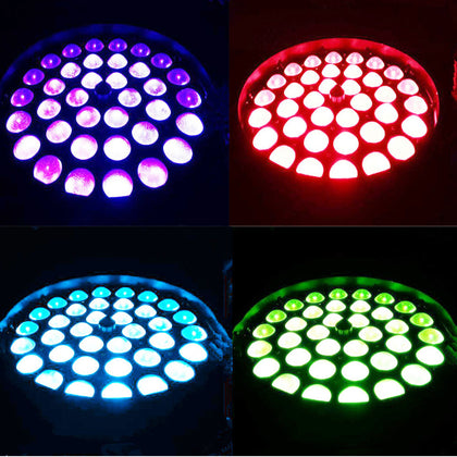 36x10w Stage Light Rgbw 4 Color Beam Led Dj Club Party Disco Birthday Wedding