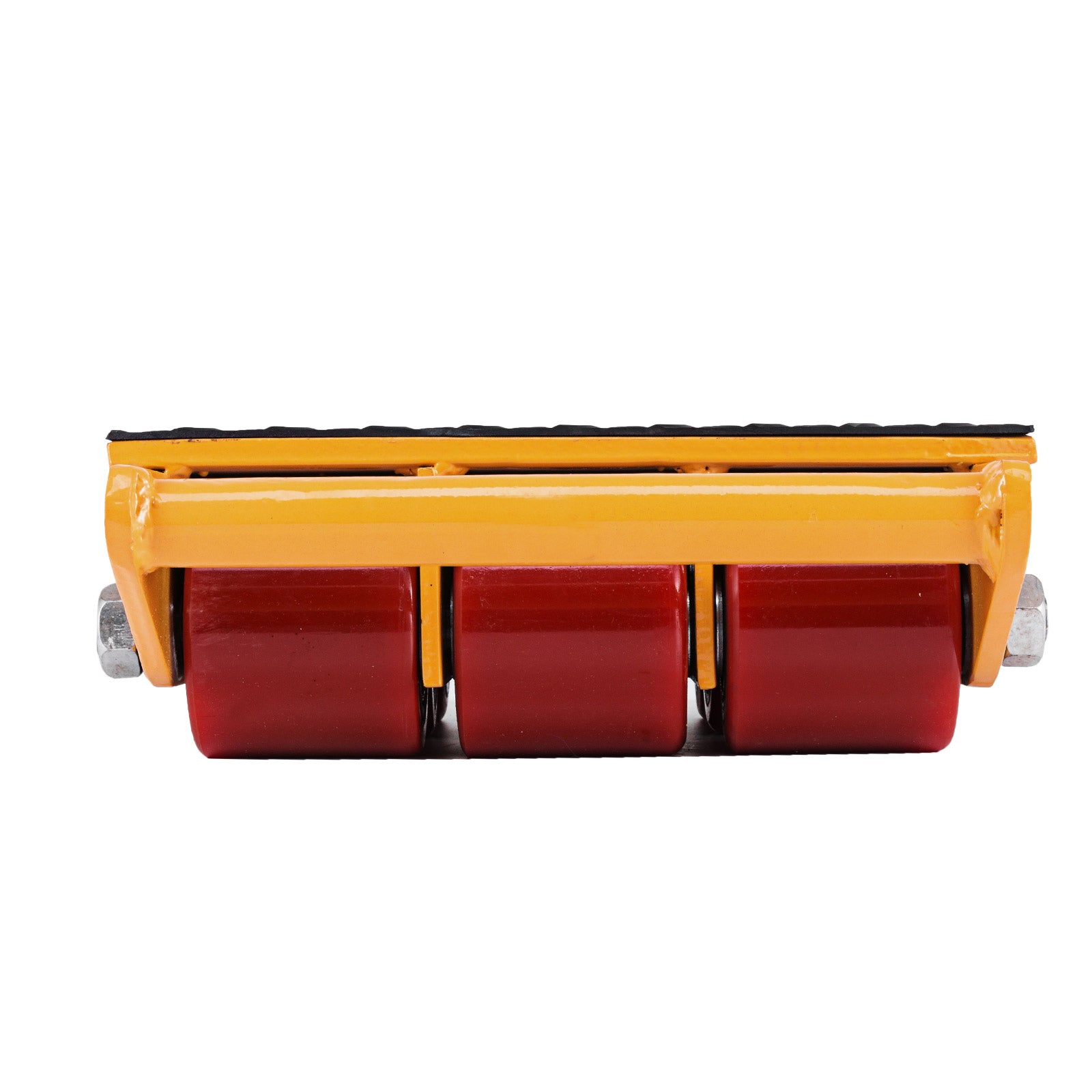 15t Heavy Duty Machinery Skate Rolling Mover W/non-slip Mat 33000lbs