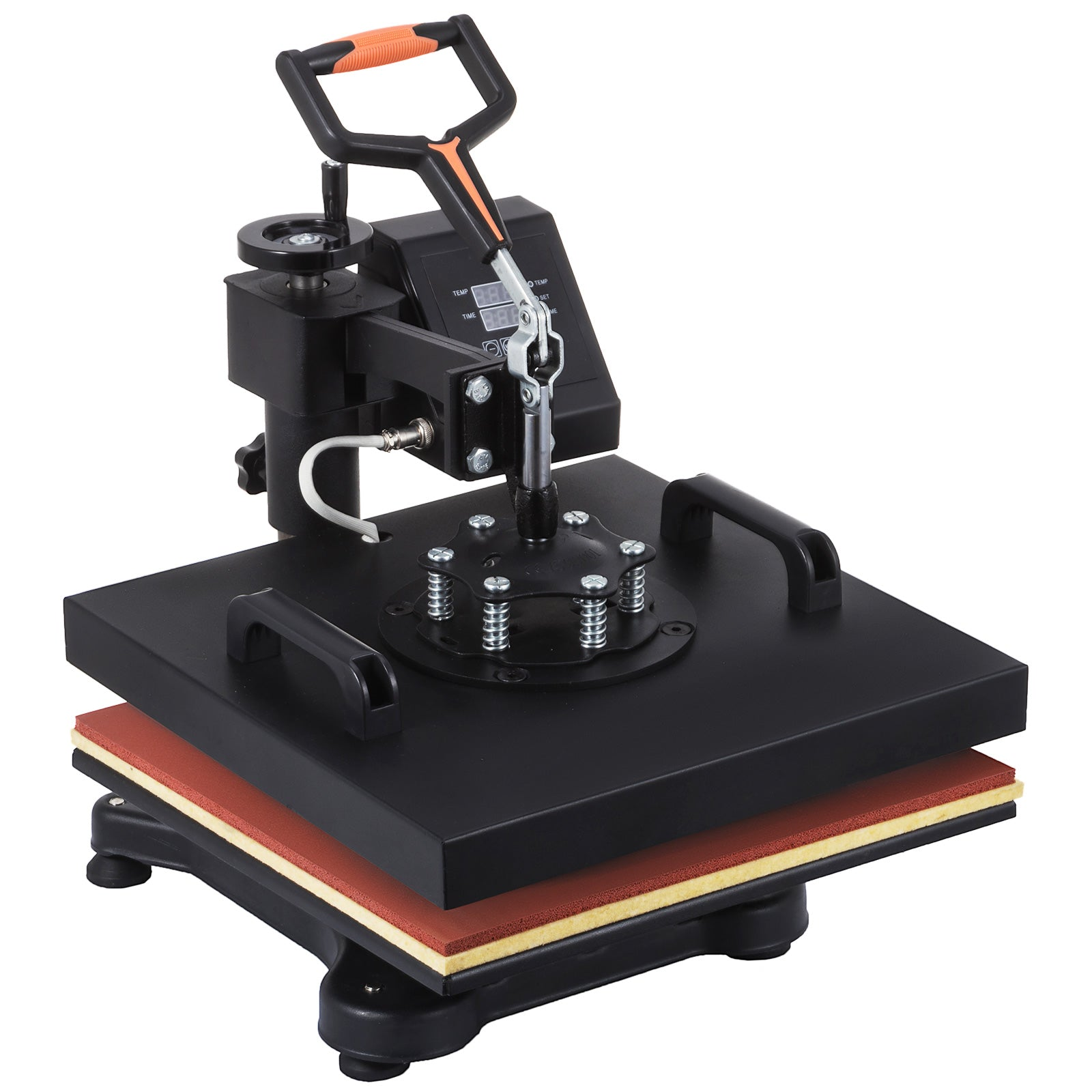 "6 In 1 Heat Press Machine Transfer 1450w 12"" X 15"" Sublimation Pattern Printing"