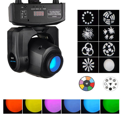 2pcs 30w Mini Moving Head Stage Lighting Spot Stage Lighting Led Ktv