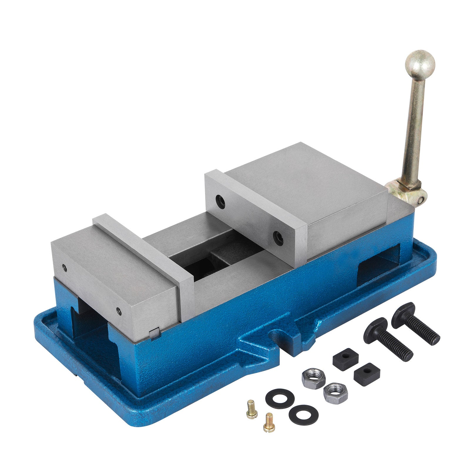 "3"" 80mm Non-swivel Milling Lock Vise Bench Clamp Accu-lock Precision 80000 Psi"