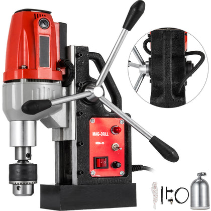 Brm35 240v 35mm Mag Drill Magnetic Drill Drilling Machine 10000n Rotabroach Type