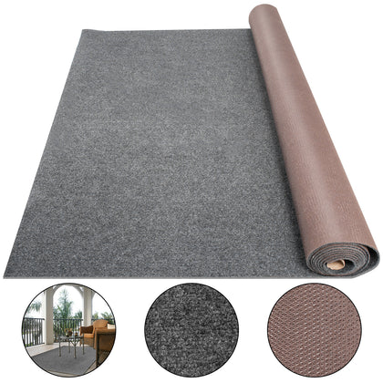 Boat Carpet Marine Carpet Roll 6x23ft Gray Cutpile Outdoor Deck Patio Rug Fabric