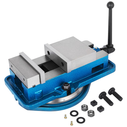 3'' Precision Milling Lockdown Vise Swivel Base Swiveling Vise Hardened Metal