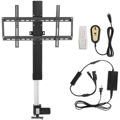 Lcd Motorised Tv Stand Lift Mount Bracket Stroke 700mm For 26