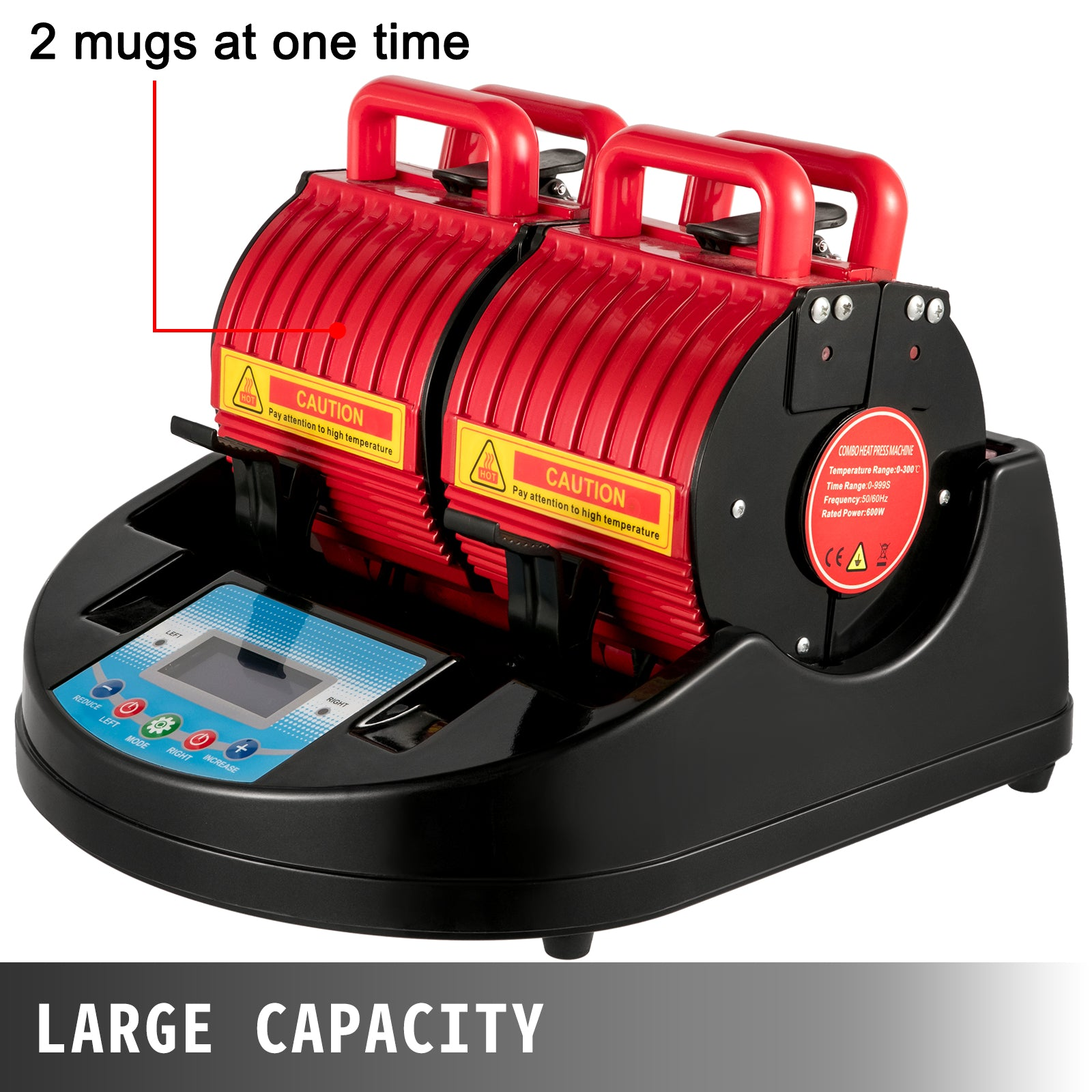 Mug Press Mug Heat Press 1200w Red Heat Press Bottle Mug Cup Heat Press Machine