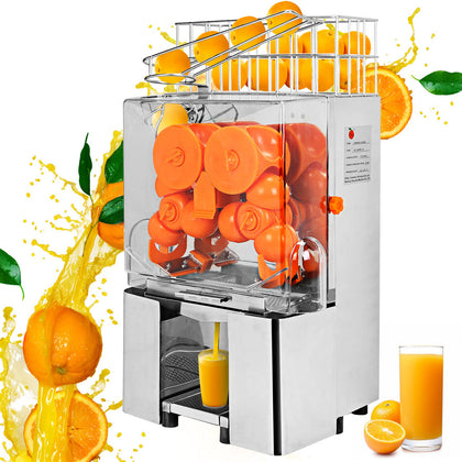 Electric Commercial Orange Juicer Squeezer Fruit Extractor Auto Feed Machine