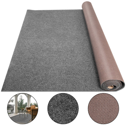 Boat Carpet Marine Carpet Roll 6x49.2ft Gray Cutpile Outdoor Deck Patio Rug