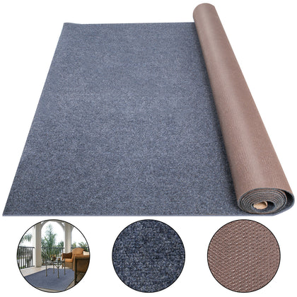 Boat Carpet Marine Carpet Roll 6x49.2ft Blue Cutpile Outdoor Deck Patio Rug