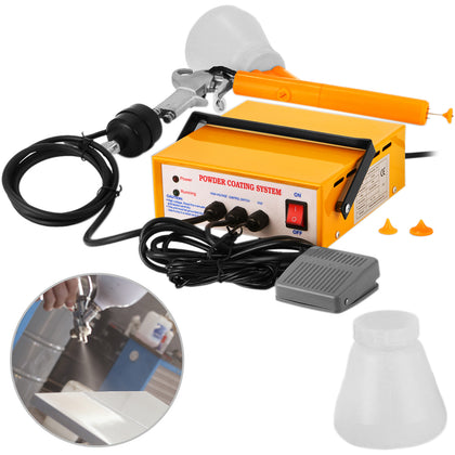 Portable Electrostatic Powder Coating System Pc03-5 Paint 10-15psi 5cfm Air