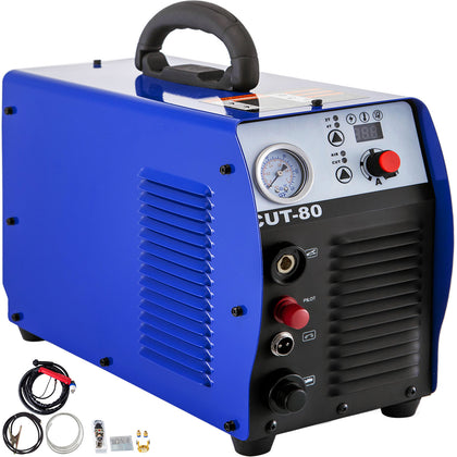 Cut-80 80a Air Plasma Cutter Machine Inverter Cutter Touch Pilot Arc 110-220v